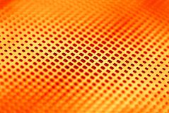 Abstract background. Square orange striped decorative background Stock Photography