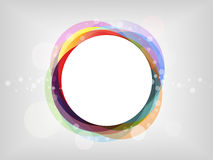 Abstract background. Colourful abstract background with pastel circles Stock Photos