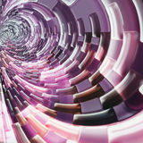 Abstract background. Abstract futuristic  background similar to the tunnel Stock Photography