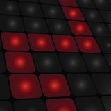Abstract background. Abstract artistic techno background illustration Stock Images