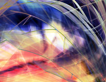 Abstract background. Fantastic colorful background Stock Photography