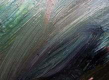 Abstract background. Texture of oil painting Stock Photography