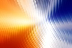 Abstract background. Glowing blurred colored waves Royalty Free Stock Photo