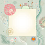 Abstract background. Colorful abstract background with geometric shapes Stock Image