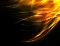 Abstract background. Abstract dynamic hot yellow composition background Royalty Free Stock Photo