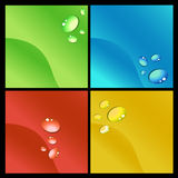Abstract background. Set of abstract background vector Stock Photos