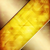 Abstract background. With hardwood textures of copper and amber hues Stock Illustration