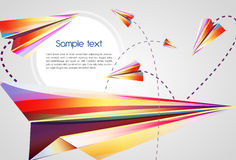 Abstract background. Beautiful abstract background with bright multicolor lines Vector Illustration