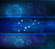 Abstract background. Abstract technology theme  background. Eps10 Royalty Free Stock Image