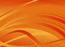 Abstract background. Futuristic abstract background - warm tones vector illustration