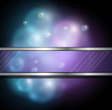 Abstract background. Stylized abstract background with glowing bubbles Royalty Free Stock Photography