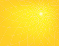 Abstract  background. Abstract yellow  background with set of lines Stock Image