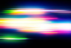 Abstract Background. Vector illustration of abstract background with blurred magic neon color lights Royalty Free Stock Photography