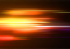 Abstract Background. Vector illustration of abstract background with blurred magic neon orange lights Royalty Free Stock Photography