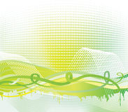 Abstract background. Abstract haslftone background. Vector illustration Royalty Free Stock Images