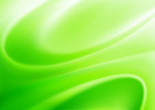 Abstract background. Vector illustration of green abstract background made of light splashes and curved lines Stock Photography