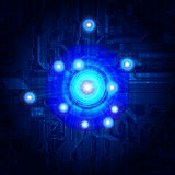 Abstract background. Abstract design, technology theme background Royalty Free Stock Photos