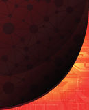 Abstract background. Technology theme  banner. eps10 Stock Images