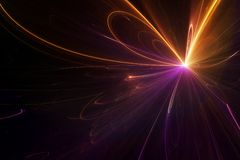 Abstract background. Abstract and futuristic fractal background royalty free illustration