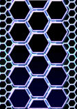 Abstract background. In the form of honeycombs Stock Images