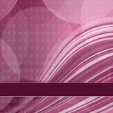 Abstract Background. Abstract Pink Background. Illustration with wavy stripes Royalty Free Stock Images