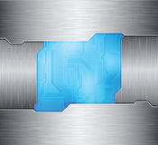 Abstract background. Metal frames and technology theme background. eps10 layered  file Royalty Free Stock Photos
