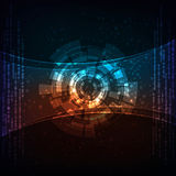 Abstract background. Modern technology theme  banner. eps10 layered  file Stock Image