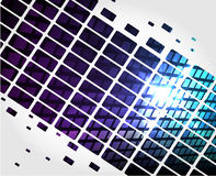 Abstract Background. Illustration - technology abstract background, of shiny squares vector illustration