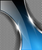 Abstract background. Abstract metallic background with glossy banner Royalty Free Stock Photos