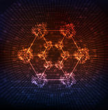 Abstract background. Creative design, modern technology theme  background. Eps10 Royalty Free Stock Images
