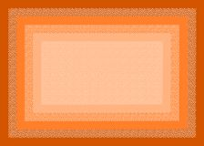 Abstract background. Made with pois and orange rectangulars Stock Image