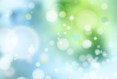 Abstract background. Abstract green and blue background Royalty Free Stock Photography