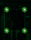 Abstract background. Modern technology theme background. eps10 Stock Photo
