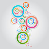 Abstract background. On white background Royalty Free Stock Images
