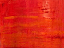 Abstract background. Red oil painted canvas Royalty Free Stock Photo