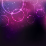 Abstract Background. An illustration of a circular purple abstract background Stock Photo