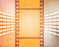 Abstract background. With filmstrips. eps10 vector Stock Images