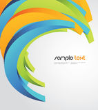 Abstract background. Abstract  3d colorful background Royalty Free Stock Images