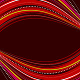 Abstract background. With red ribbons Royalty Free Stock Photography