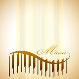 Abstract background. With piano keys Stock Photos