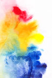 Abstract background. For your advertising. Picturesque splash in emotions by means of paints Stock Photos