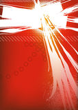 Abstract Background. An illustration of an exploding abstract background Royalty Free Stock Photos