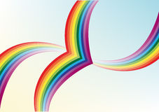 Abstract background. Multi-colored rainbow vector illustration
