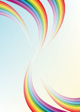 Abstract background. Multi-colored rainbow royalty free illustration