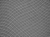 Abstract background. Plastic net waves as background Royalty Free Stock Photo