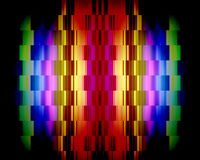Abstract background. With color squares Stock Photography