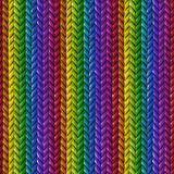 Abstract background. Of colorful ropes Royalty Free Stock Photography