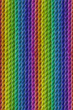 Abstract background. Of colorful ropes Royalty Free Stock Images