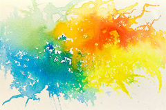 Abstract background. Abstract hand drawn watercolor background, raster illustration Stock Images