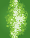 Green Circle Background. An illustration of circle shaped abstract background Royalty Free Stock Image